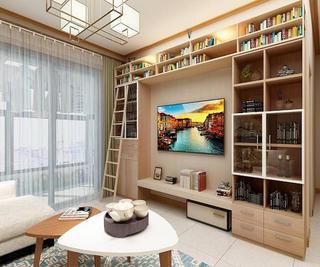 100㎡三居室电视墙设计