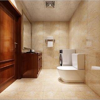 新中式四居装修客卫设计图