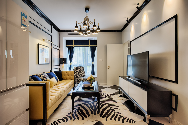 60平小户型设计客厅效果图