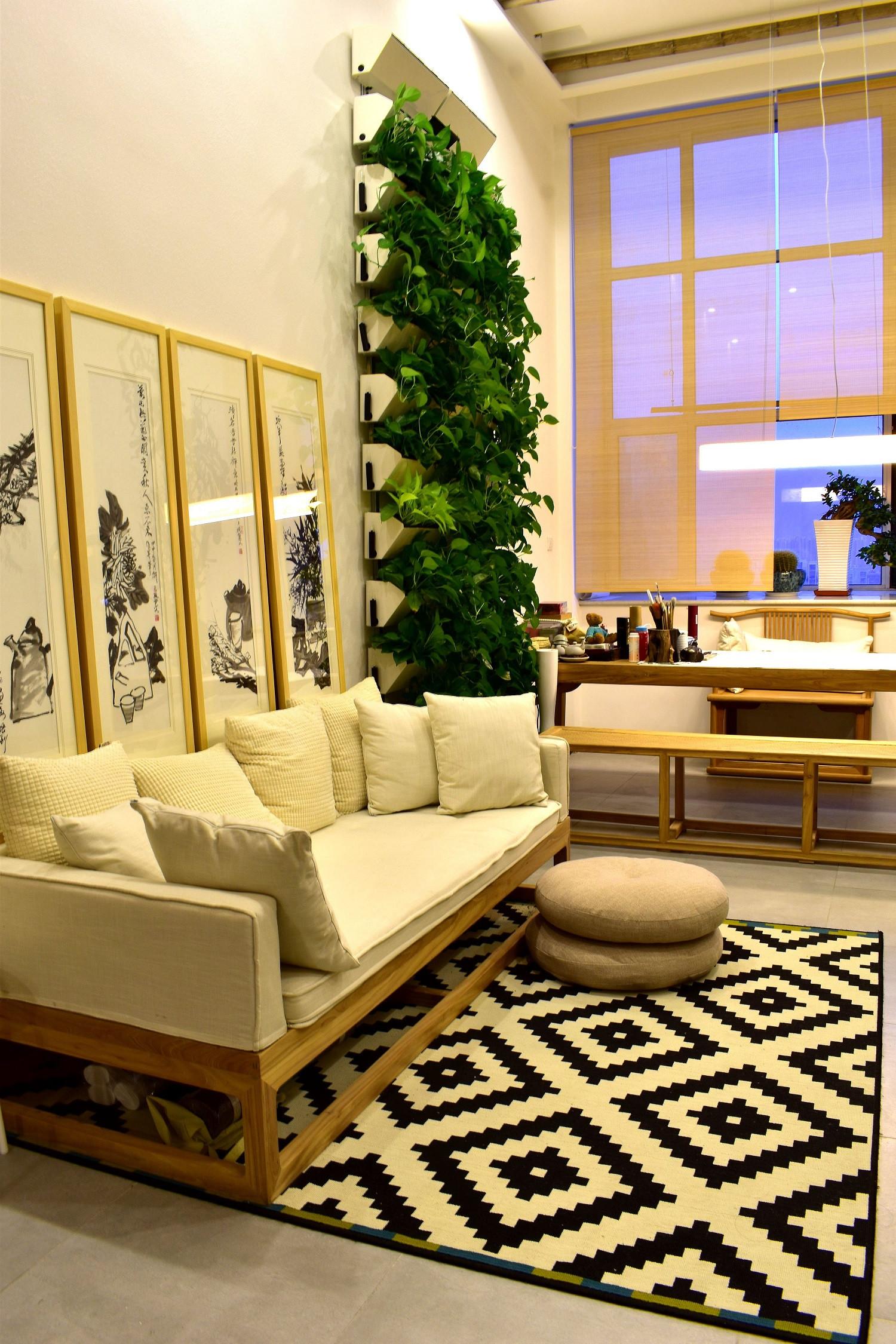 60平Loft风格装修沙发图片