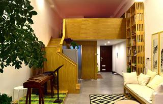 60平Loft风格装修楼梯设计
