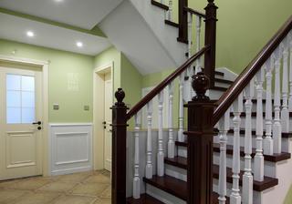 简美复式装修楼梯间图片