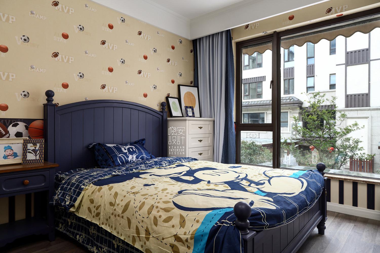 简美复式装修儿童房效果图