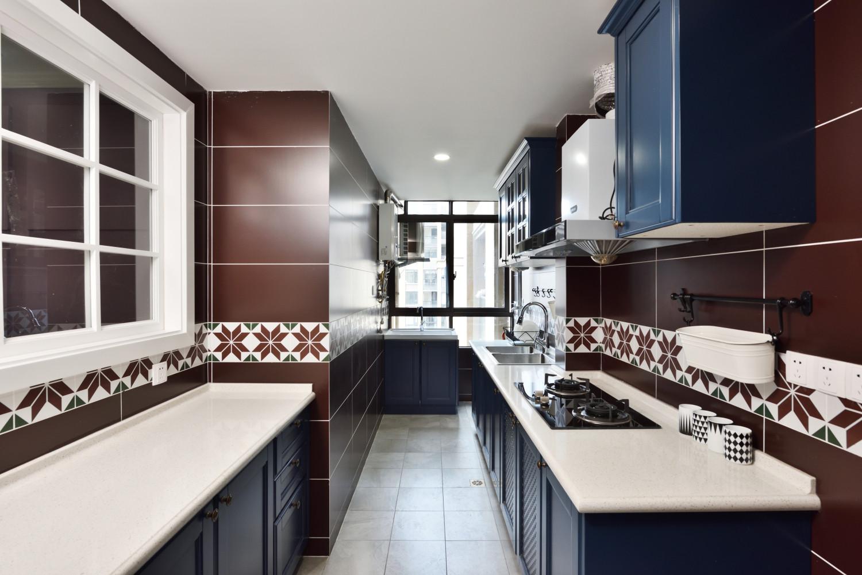 北欧公寓风装修厨房设计图
