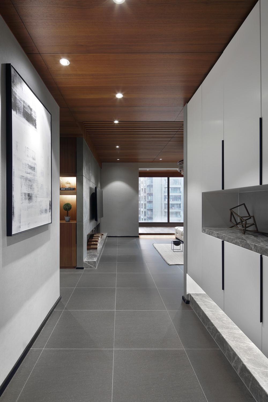 198平现代风格装修玄关走廊