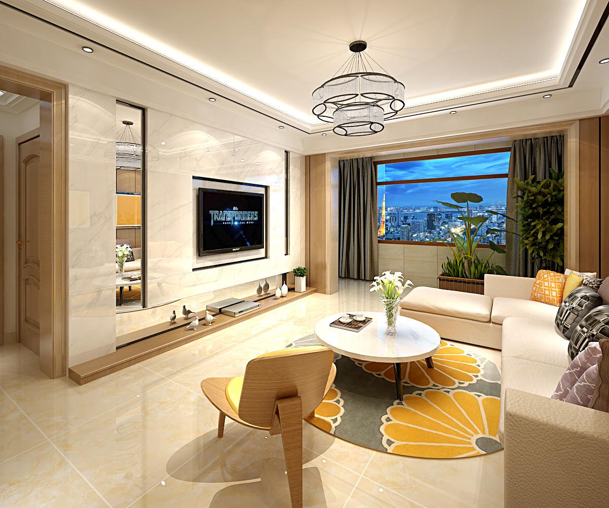 140平装修客厅吊顶设计