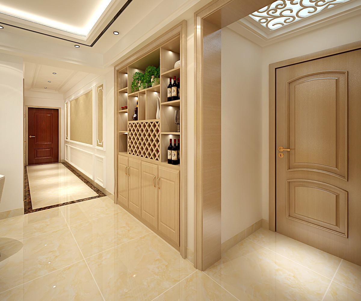 140平装修走廊图片