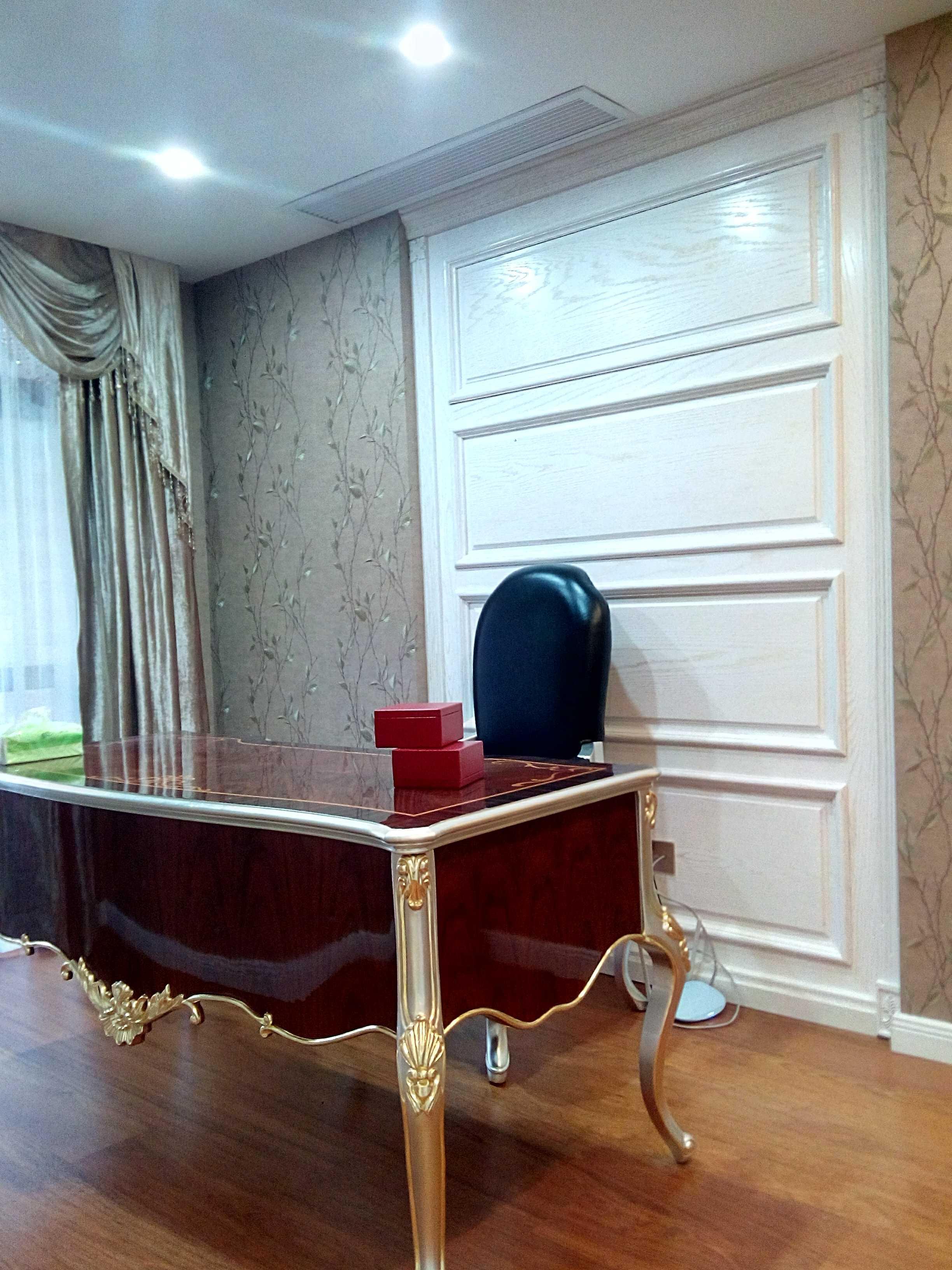 欧式风格别墅装修书桌图片