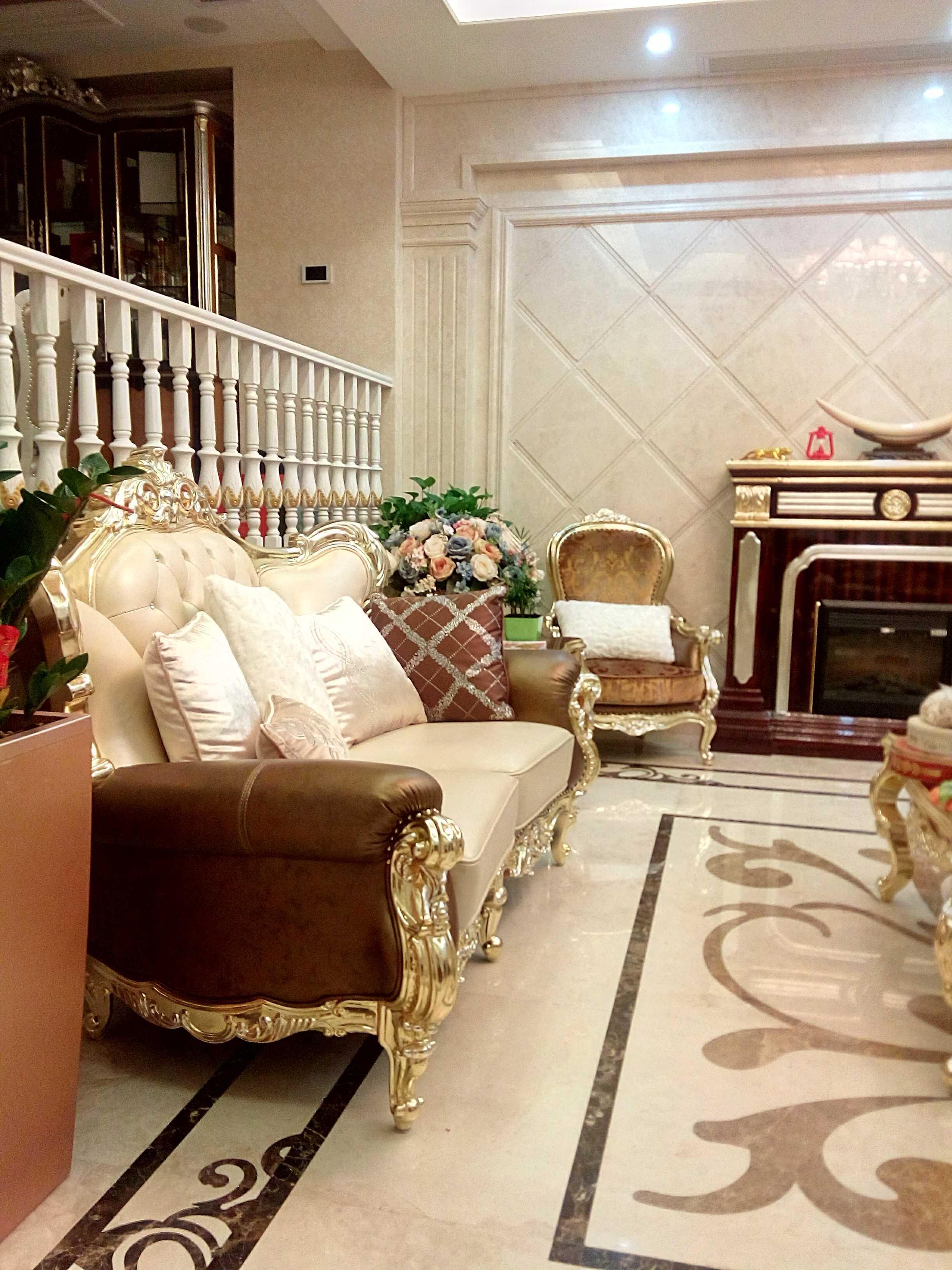 欧式风格别墅装修沙发图片