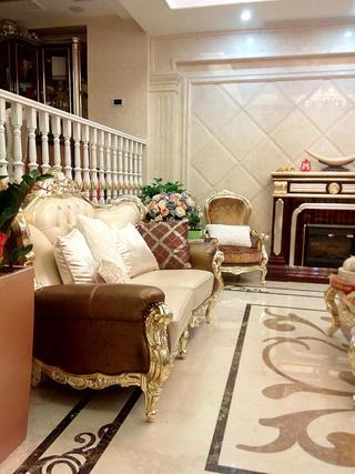 歐式風格別墅裝修沙發圖片