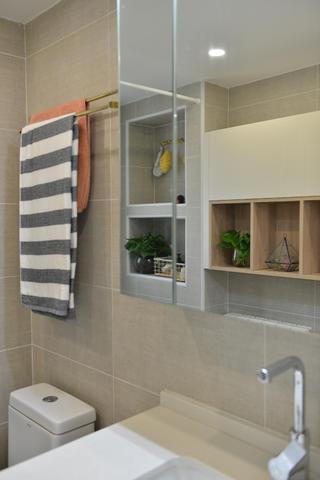 89平北欧风格设计浴室柜图片