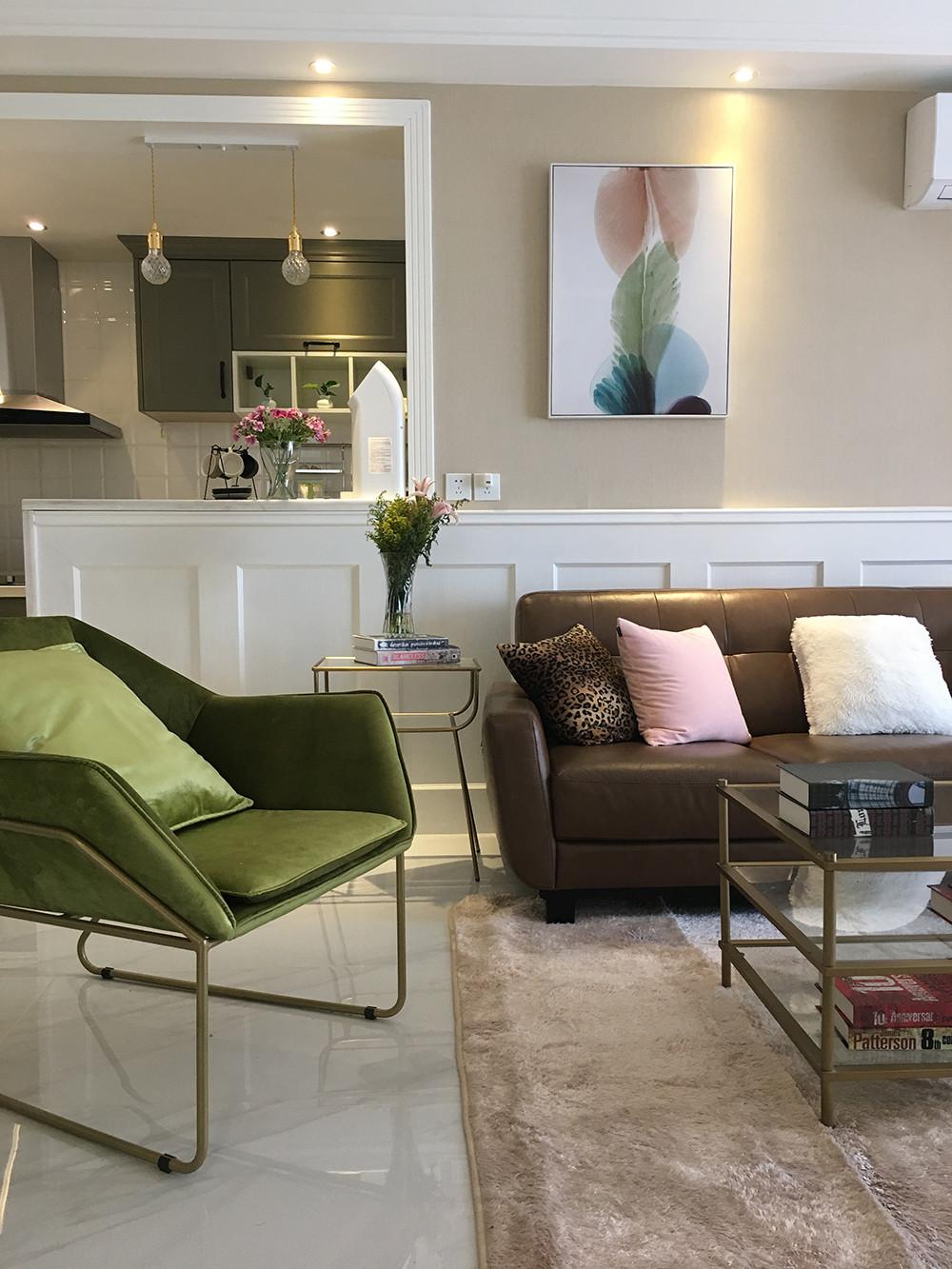 北欧三居装修椅子图片