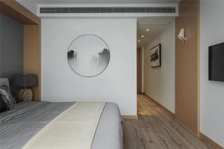 160平简约风格家卧室背景墙图片