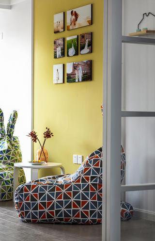 二居室北欧之家照片墙图片
