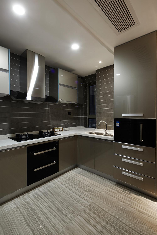 89平现代简约风格装修厨房效果图