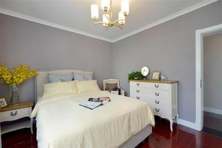 110平混搭三居装修床头柜图片