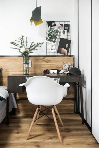 90平北欧风格家书桌图片