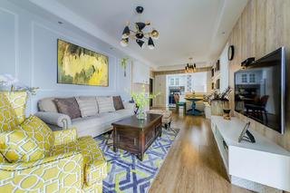 美式三居之家沙发图片