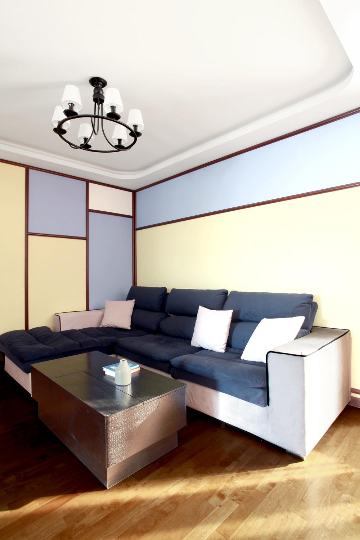 混搭二居室装修沙发图片