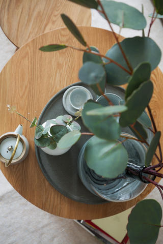 小户型北欧风格家茶具特写
