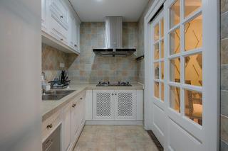 复式混搭装修厨房效果图