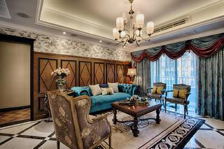 新古典装修客厅效果图