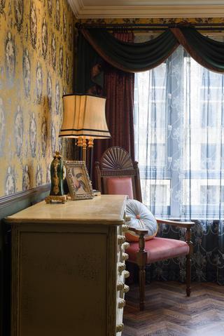 新古典裝修臥室一角