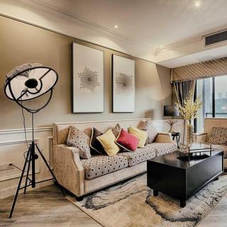 现代美式三居装修 雅致高格调