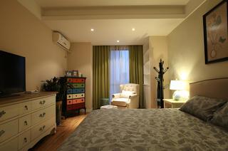 90㎡美式风格家卧室吊顶设计