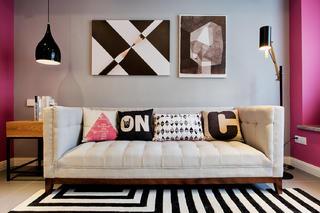 混搭二居室之家沙发图片