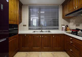 简美复式装修厨房构造图