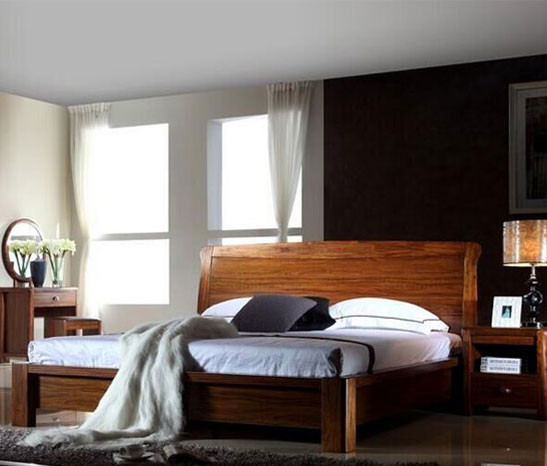 【清样】A家 现代中式 卧房三件套