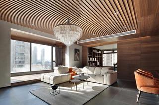 198平现代风格装修客厅效果图