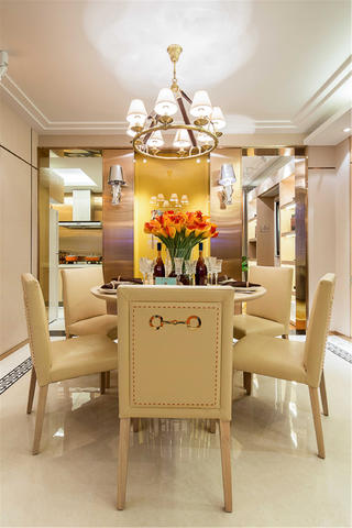 现代风格三居餐厅效果图
