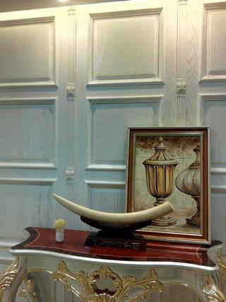 欧式风格别墅装修玄关柜装饰摆件