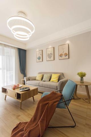 北欧三居之家沙发图片