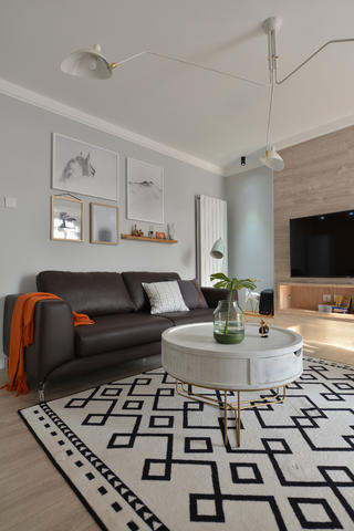89平北欧风格设计沙发图片