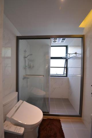 110㎡北欧风格装修淋浴房图片