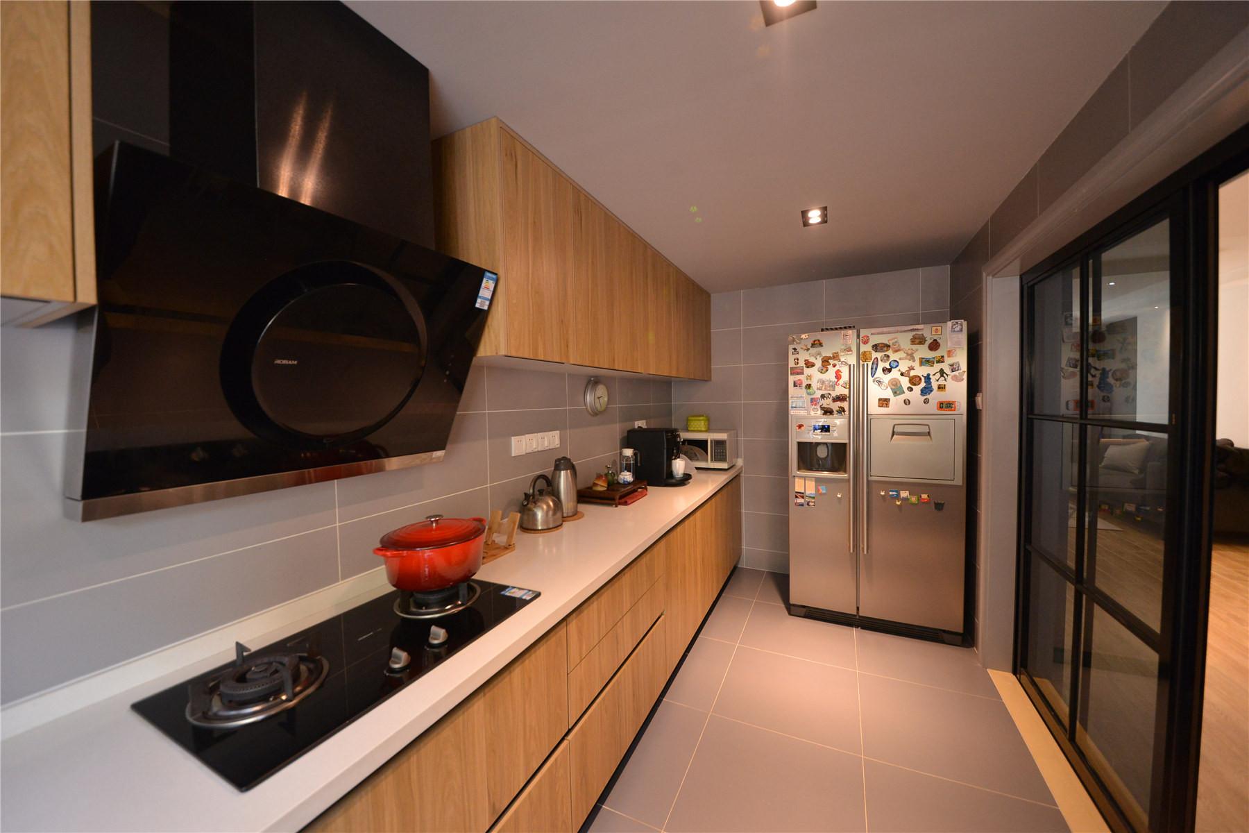 110㎡北欧风格装修厨房设计图