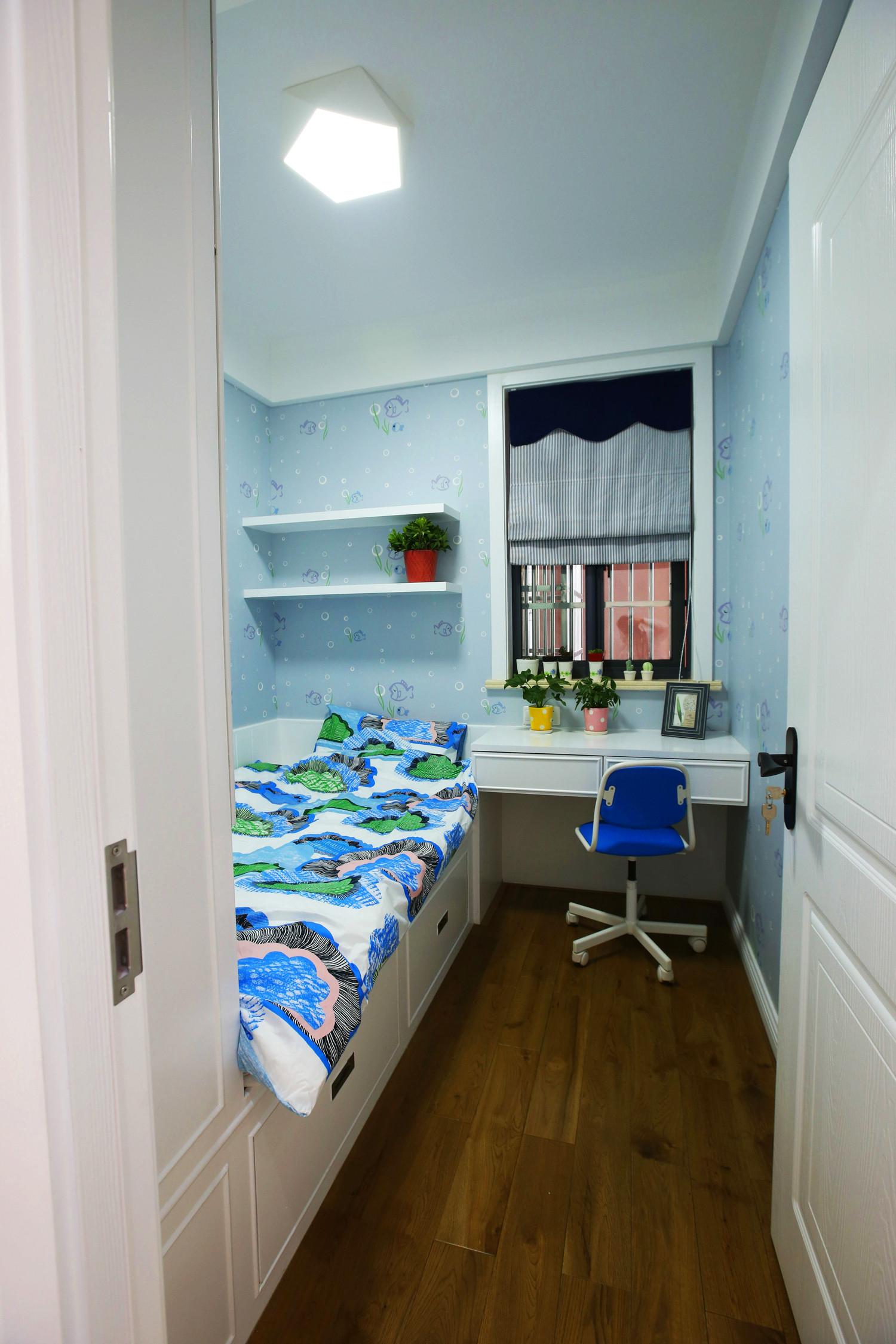 北欧三居装修男孩房设计图