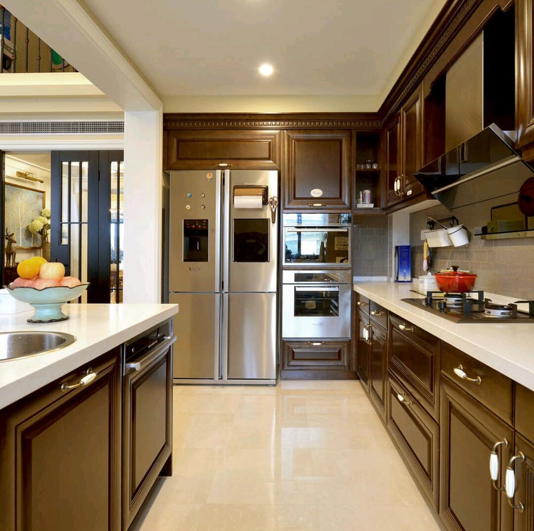 优雅复式空间厨房设计图