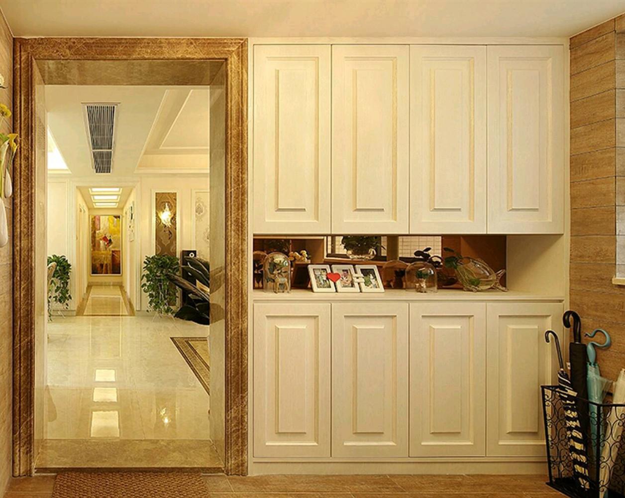 欧式风格三居装修走廊图片