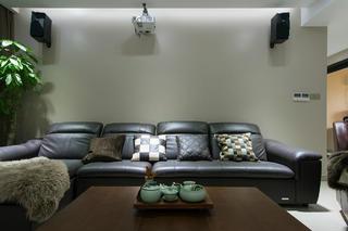 现代三居装修沙发图片