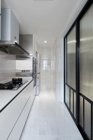 简约二居装修效果图厨房效果图