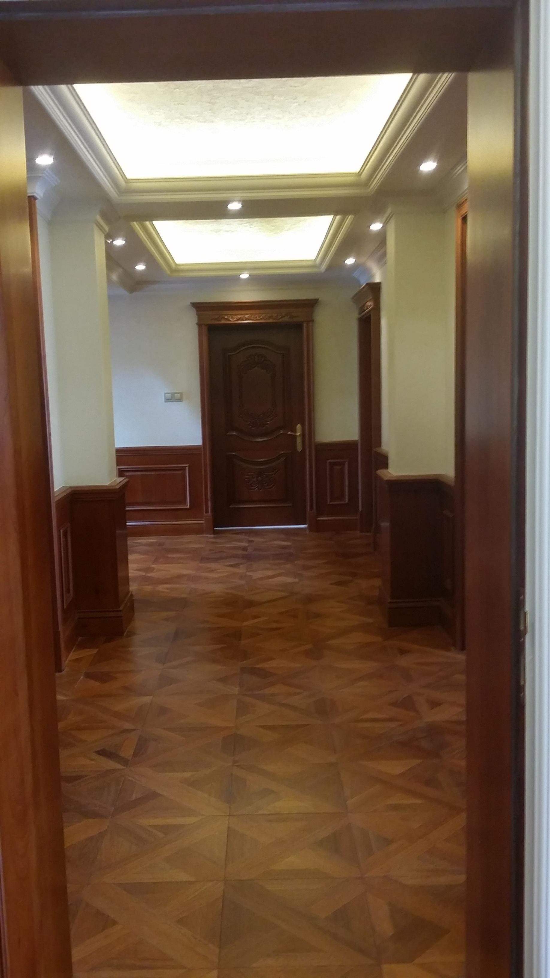 欧式别墅装修门厅图片