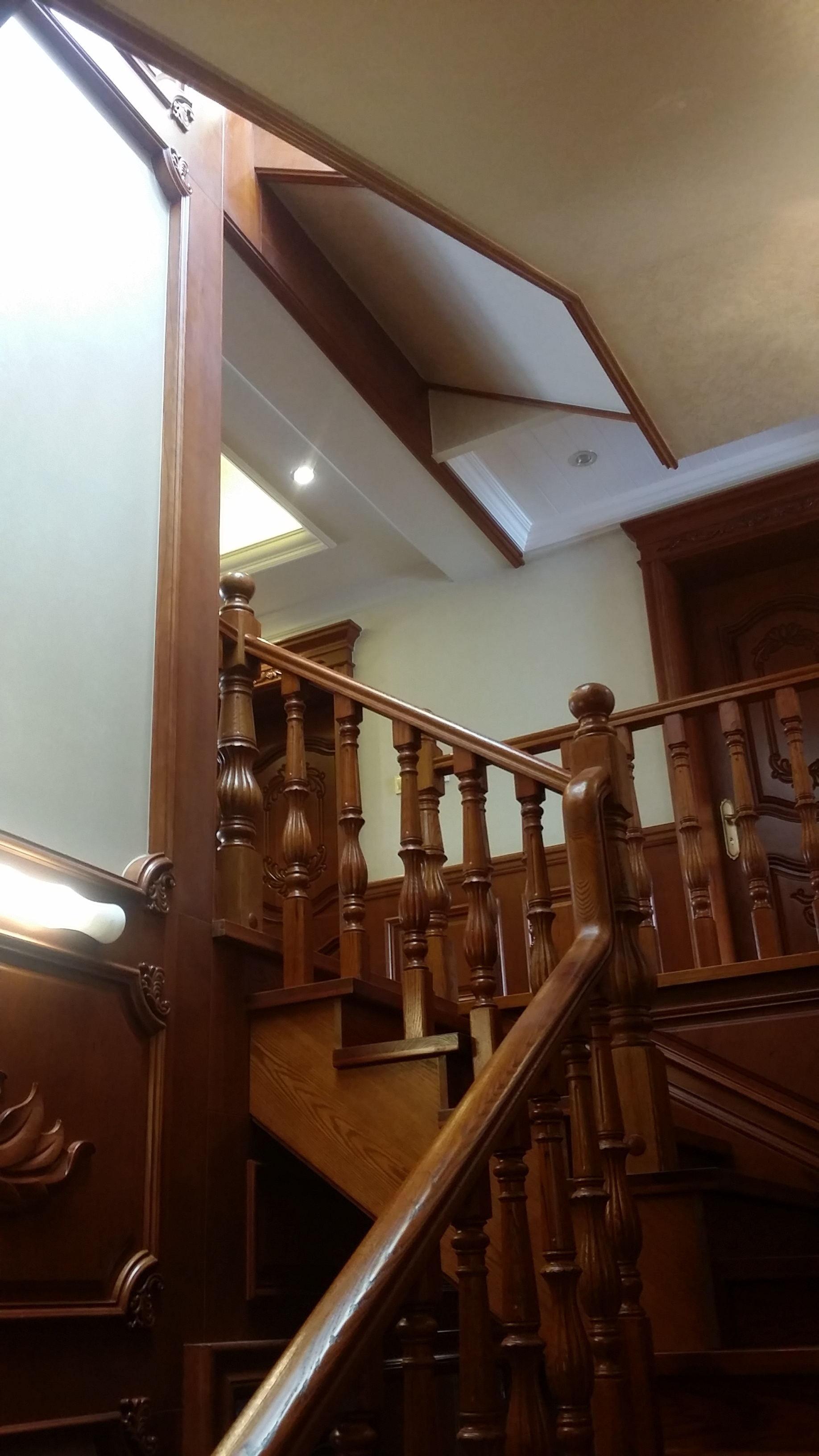欧式别墅装修楼梯图片