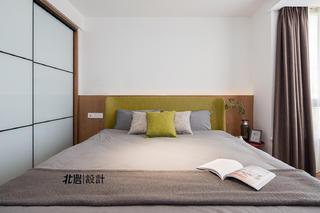 现代简约复式装修卧室效果图
