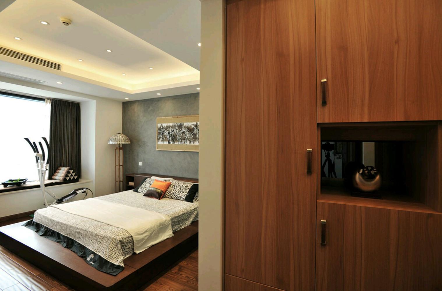 美式四房装修卧室效果图