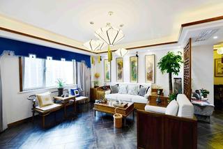 新中式三居装修客厅设计图
