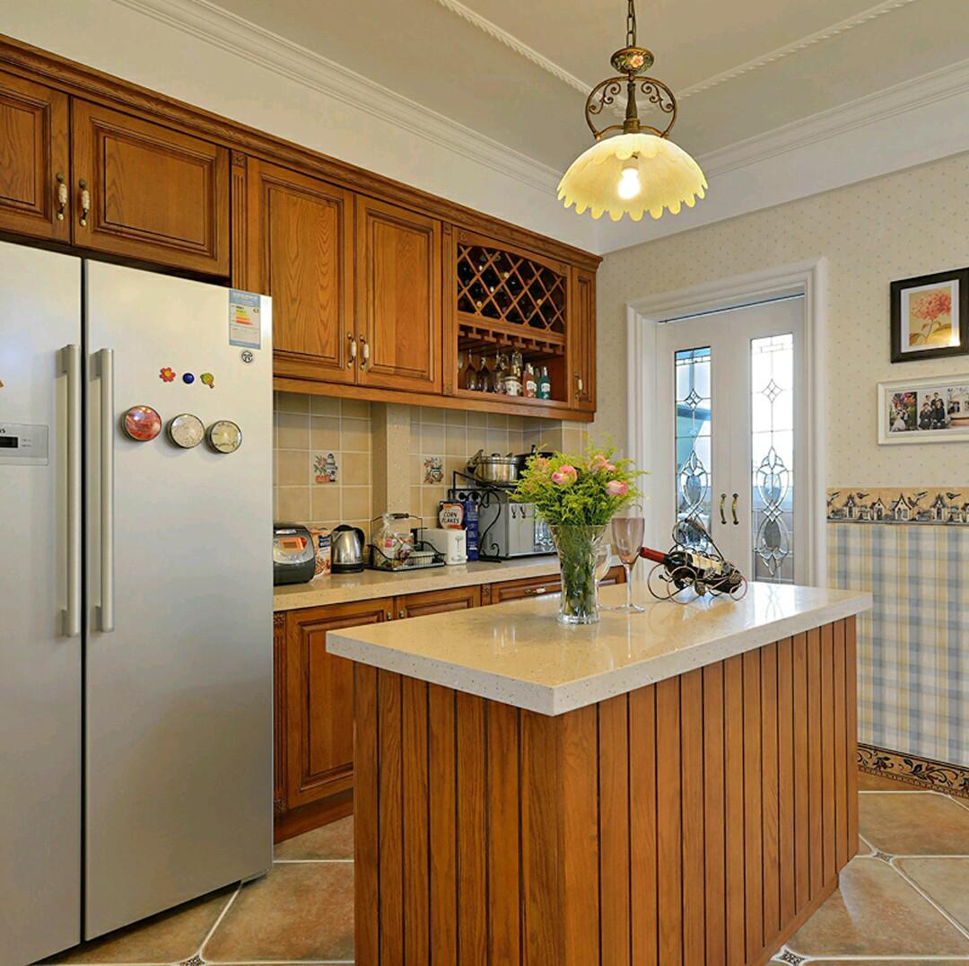 简欧二居装修厨房设计图